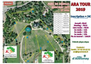 ARA Tour 2019 #2 - Annonay @ Parc de Déomas
